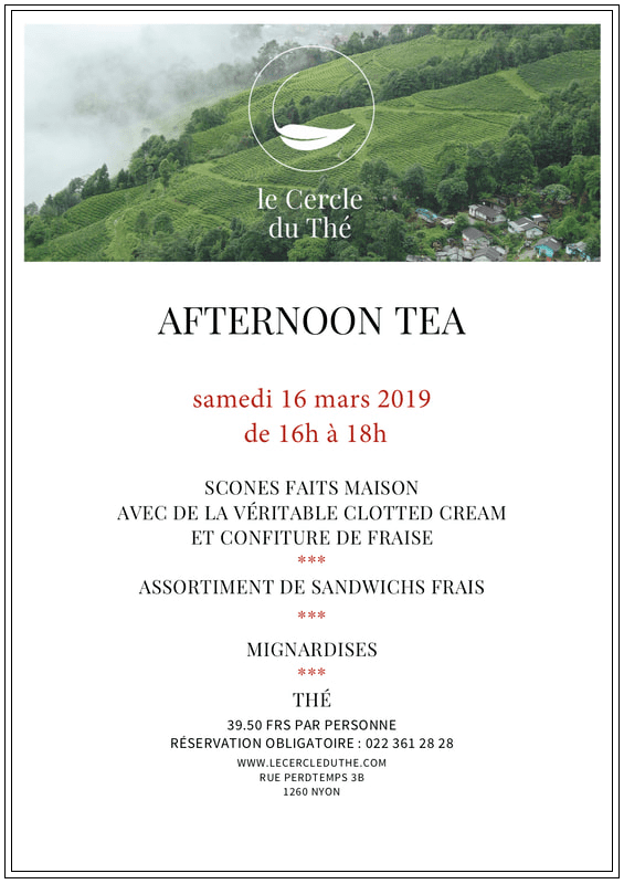 afternoon-tea le cercle du thé