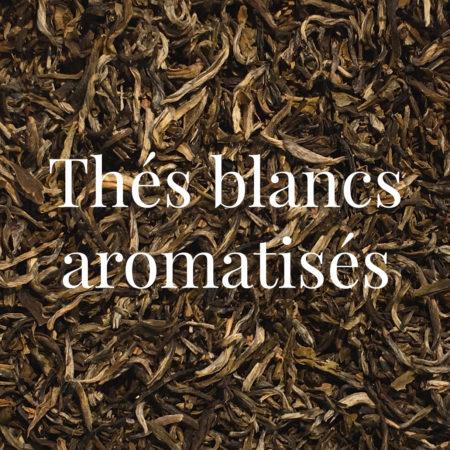Thés blancs aromatisés
