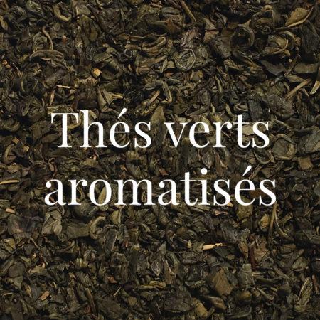 Thés verts aromatisés