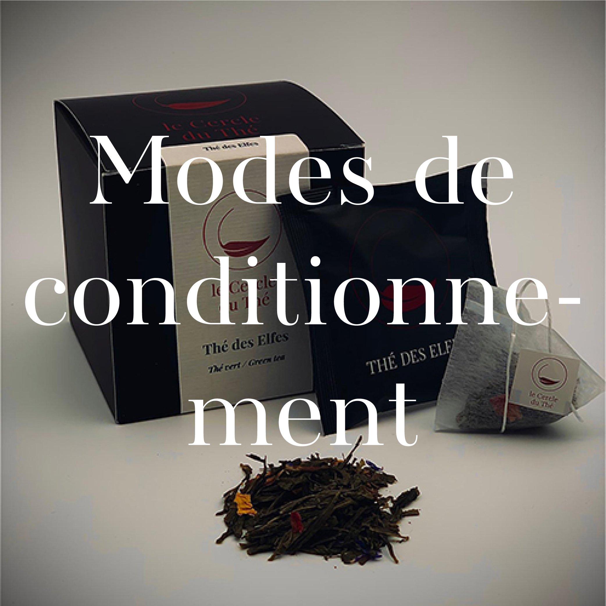 Modes De Conditionnement
